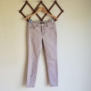 Refuge Skinny Rose Gold Accent Jeans Mauve